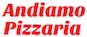 Andiamo Pizzaria logo