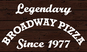 Broadway Pizza East logo