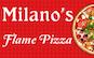 Milano's Flame Pizza & Pasta logo