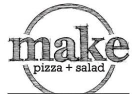 MAKE pizza+salad