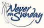 Never On Sunday logo