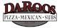 DaRoos Pizza Bagley logo