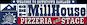 The Millhouse Pizzeria & Stage logo