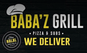 Babaz Grill Pizza & Subs logo