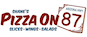 Shane's Pizza On 87 logo