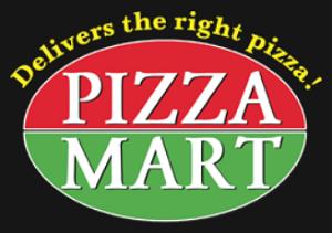 A Pizza Mart logo