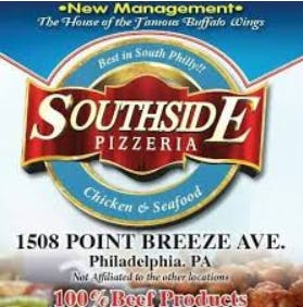 South Side Chicken & Seafood Philly Pizza