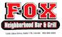 The Fox Bar & Grill logo