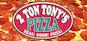 2 Ton Tony's Pizza logo