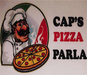 Cap's Pizza logo
