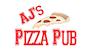 Aj's Pizza Pub logo