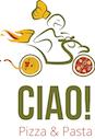 Ciao! Pizza & Pasta logo