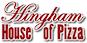 Hingham House of Pizza logo