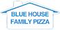 Blue House Family Pizza logo
