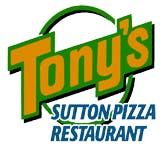 Tony's Sutton Pizza Restaurant