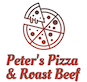 Peter's Pizza & Roast Beef logo