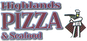 Highland's Pizza & Seafood logo