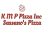 K M P Pizza Inc Sassanos Pizza logo