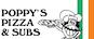 Poppy's Pizza & Subs logo