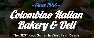Colombino Italian Bakery-Deli Menu - 4439 Forest Hill Blvd, West Palm  Beach, FL 33406 | Slice