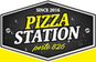 Pizza Station 826 logo