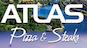 Atlas Pizza & Steaks logo