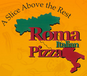 Roma Pizza logo
