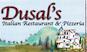 Dusal's Pizza logo