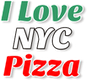 I love NYC Pizza logo