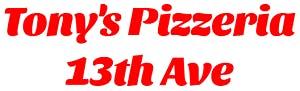 Tony's Pizzeria 13th Ave
