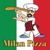 Milan Pizza logo