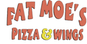 Fat Moe's Pizza & Wings logo