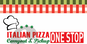 Italian Pizza One Stop logo