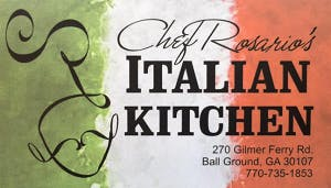 Chef Rosario's Italian Kitchen