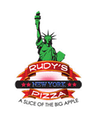 Rudy's New York Pizza logo