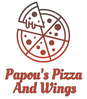 Papou's Pizza And Wings logo
