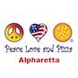 Peace Love & Pizza logo