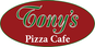 Tony's Pizza Cafe logo