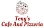 Tony's Cafe And Pizzeria logo