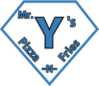 Mr. Y's Pizza N Fries logo