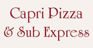 Capri Pizza & Sub Express