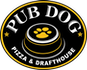 Pub Dog Pizza & Drafthouse logo