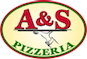 A & S Pizza logo