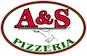 A&S Pizza logo
