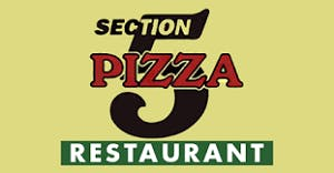 Section 5 Pizza