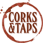 Corks and Taps logo