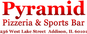 Pyramid Pizza & Sports Bar logo