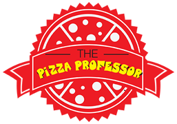 The New Pizza Professor logo