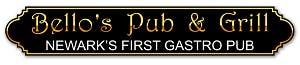 Bello's Pub And grill, newark's first gastropub