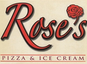 Rose's Pizza & Ice Cream logo